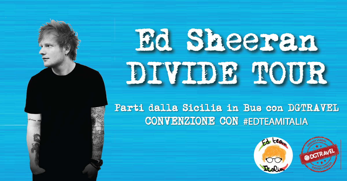 ed shheran divide tour 2019