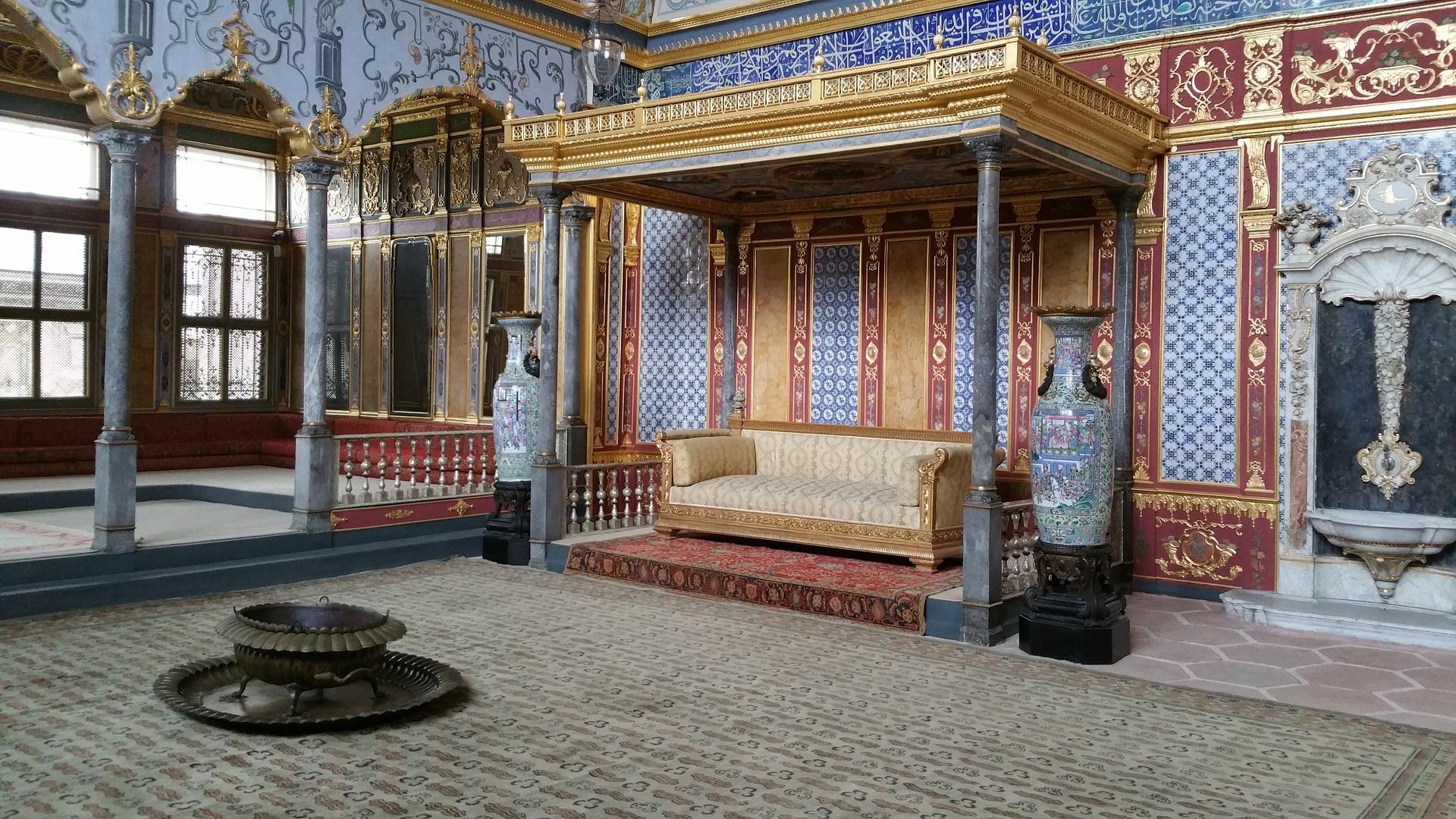 istanbul palazzo di Topkapi